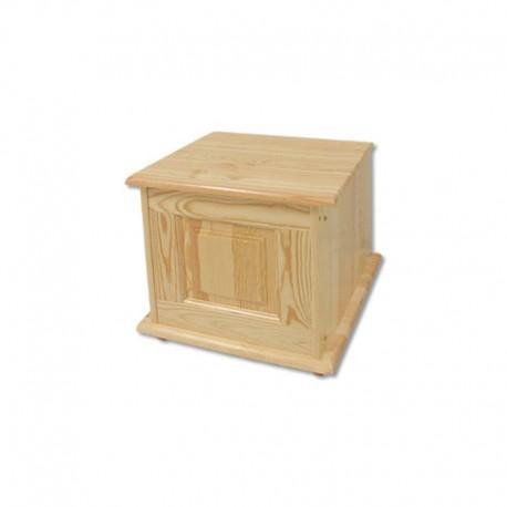 Malá drevená truhlica z masívu KS101