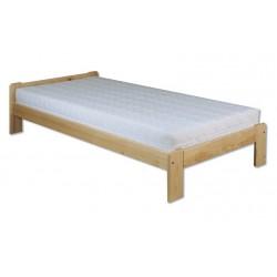 Jednoduchá posteľ z masívu