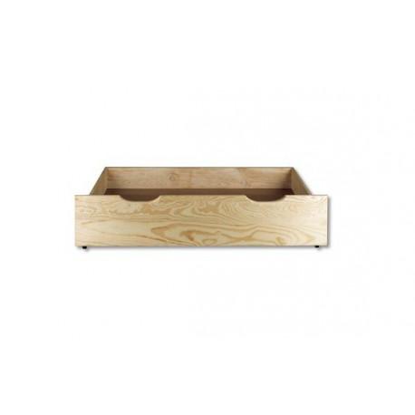 Zásuvka pod posteľ z masívu 1m LK150