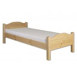 Tradičná masívna posteľ