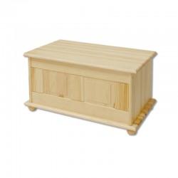 Drevená truhlica z masívneho dreva KS102