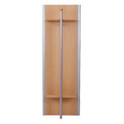 Vešiakový panel s tyčou