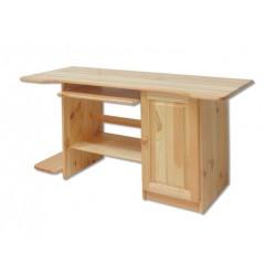 Písací drevený PC stolík