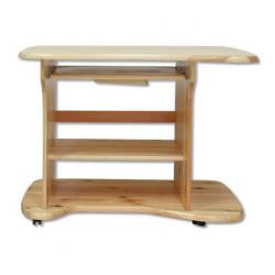 Drevený pracovný stolík z masívu