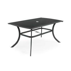 Elegantný čierny stôl