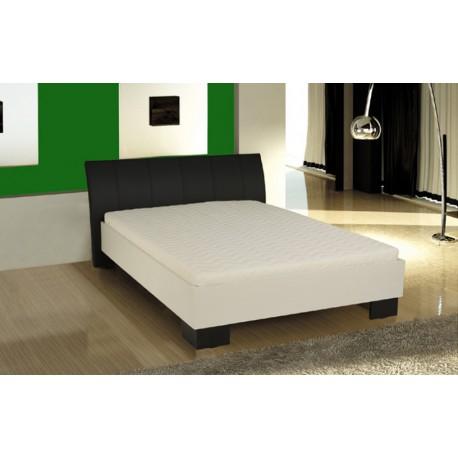 Drevená manželská posteľ so zadným čelom Lucia 80213