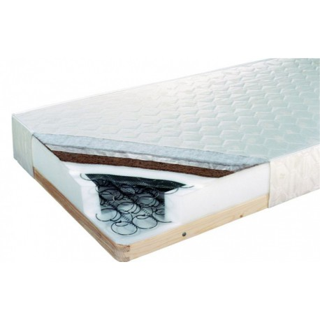 Bonelový matrac na rošte Kokos Medium