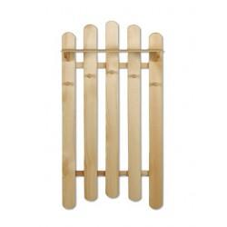 Nástenný vešiak z dreva