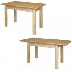 Drevený rozťahovací stôl z masívu
