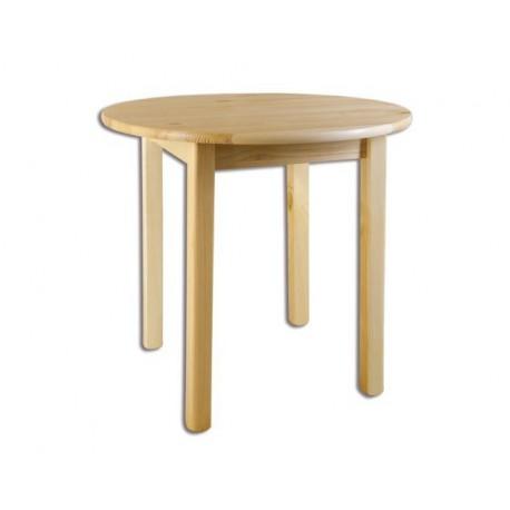 Okrúhly stolík z masívu