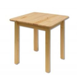 Drevený stôl pre štyri osoby