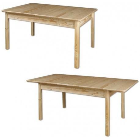 Rozkladací stôl z dreva