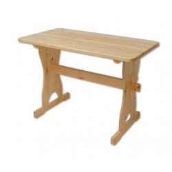 Hranatý jedálenský stôl