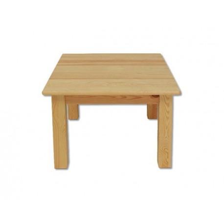 Hranatý stolík z masívu ST109