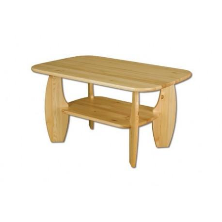 Borovicový stolík do obývačky