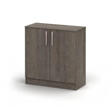 Dvojdverová drevotriesková komoda