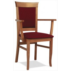 Stolička do reštaurácií s podrúčkami