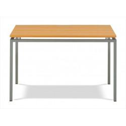 Jedálenský stôl na hliníkovej kostre