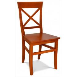 Celodrevená buková stolička