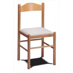 Stolička z bukového dreva