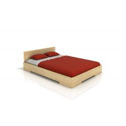 Vysoká manželská posteľ z borovice LOREN