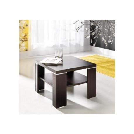 Konferenčný stolík Kwadrat - gaštan wenge