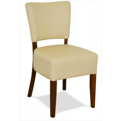Stolička z masívneho bukového dreva