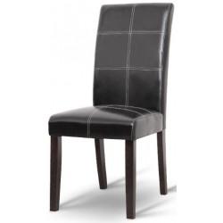 Čalúnená stolička v troch farbách