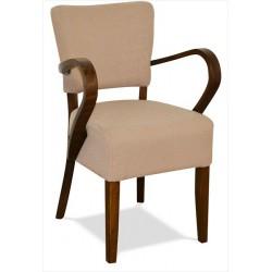Stolička s podrúčkami do reštaurácie