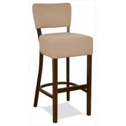 Barová stolička s čalúneným sedákom