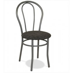 Jedálenská stolička s hliníkovou kostrou