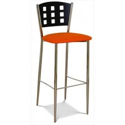 Kovová stolička do baru