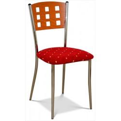Jedálenská stolička s čaluneným sedákom