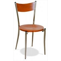 Stohovateľná jedálenská stolička