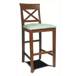 Barová stolička z masívneho dreva