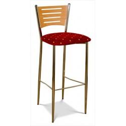 Barová stolička s čaluneným sedákom