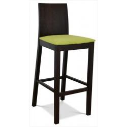 Stolička do baru s pohodlným sedákom