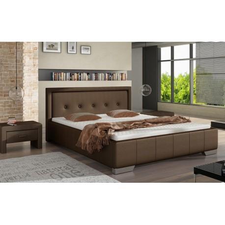 Manželská posteľ s úložným priestorom VANESA 80277KF