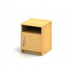 Nočný stolík so skrinkou