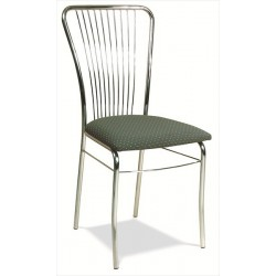 Kovová stolička do jedálne a kuchyne