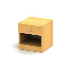 Malý drevený nočný stolík