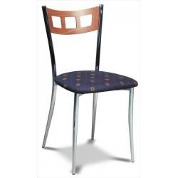 Jedálenská stolička s moderným operadlom