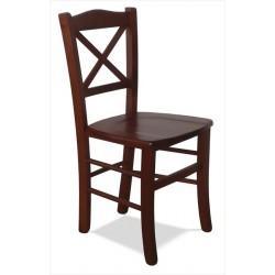 Drevená stolička do reštauračných zariadení