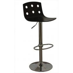 Barová stolička s nízkym operadlom