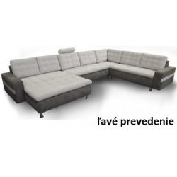 Celočalúnená sedačka v tvare U