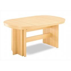 Drevený stôl s možnosťou rozloženia