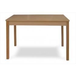 Dýhovaný jedálenský stôl