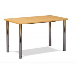 Jedálenský stôl so zaoblenými rohmi