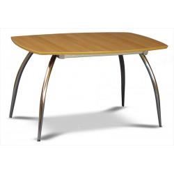 Jedálenský stôl na zaoblených nohách