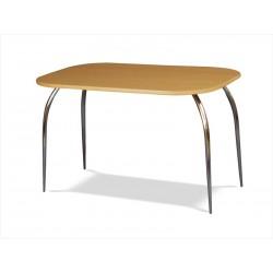 Zaoblený jedálenský stôl